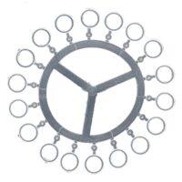Силиконов микро ринг за пелети CraPro