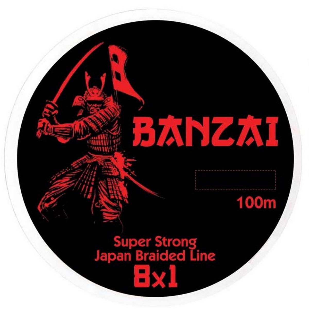 Плетено влакно Baracuda Banzai Multicolour 100m