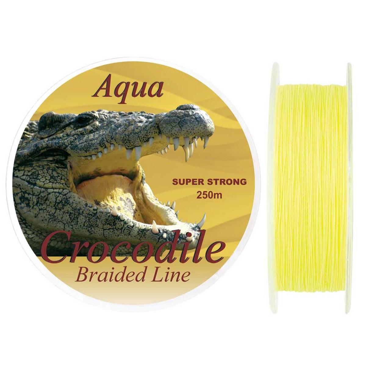 Плетено влакно Baracuda Aqua Crocodile 250m за риболов на сом.