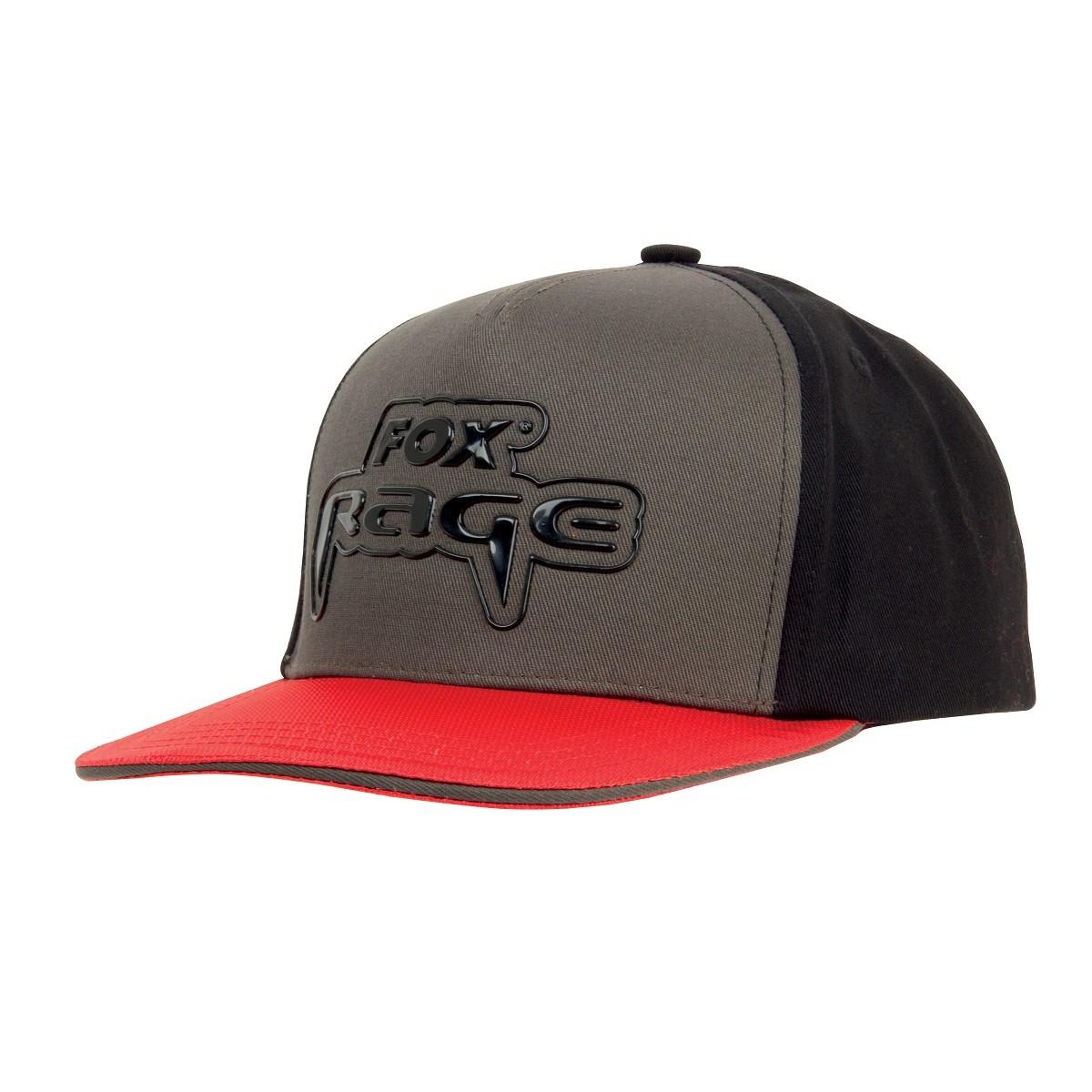 Fox Rage Snapback Black / Grey/ Red