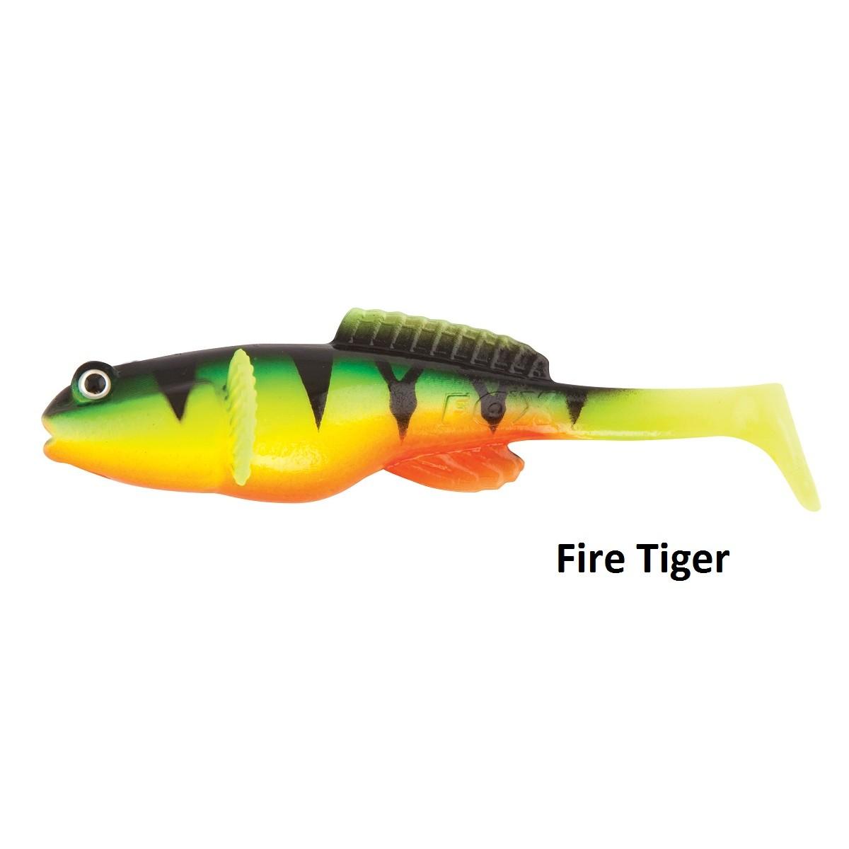 Силиконовa примамкa Fox Rage Fish Snax Grondle Wobble 10cm