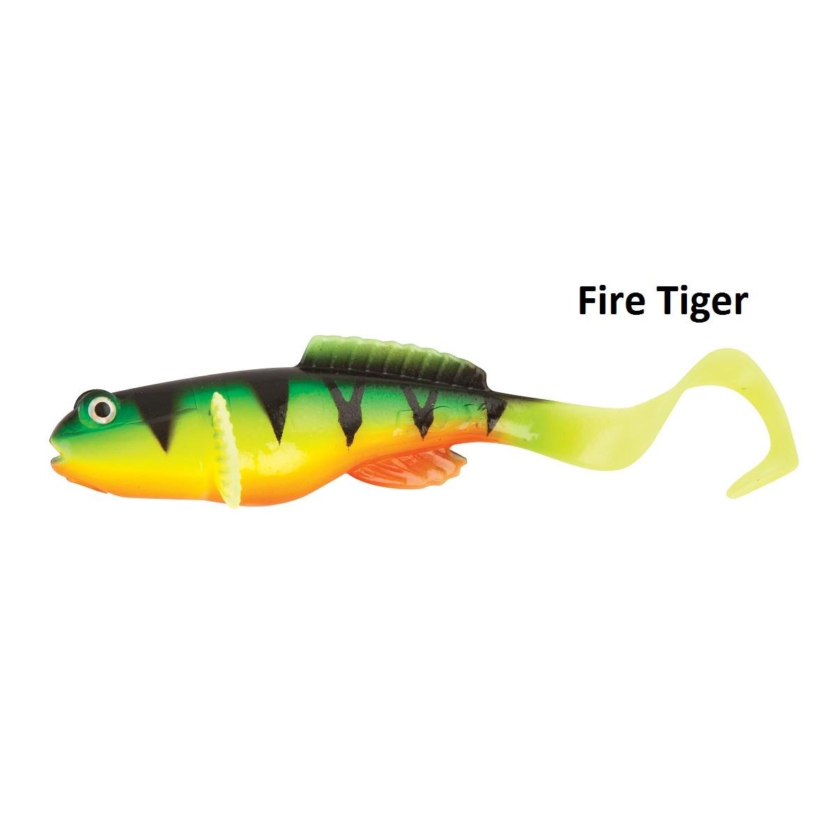 Силиконовa примамкa Fox Rage Fish Snax Grondle Twist 10cm