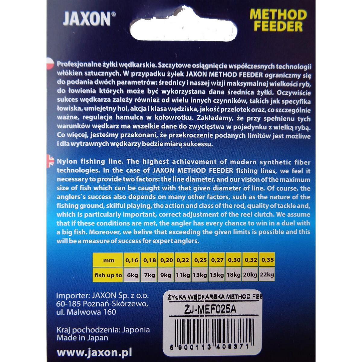 Риболовно влакно Jaxon Method Feeder 150m