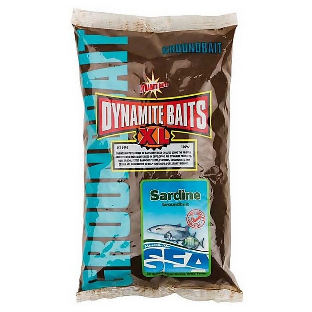 Захранка за риболов Dynamite Baits Sea Groundbait Sardine