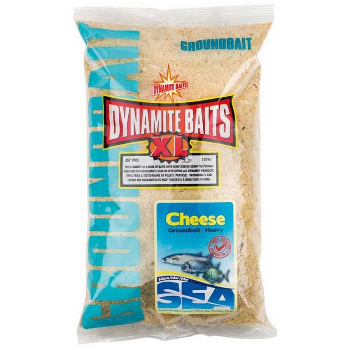 Захранка за риболов Dynamite Baits Sea Groundbait Heavy Cheese