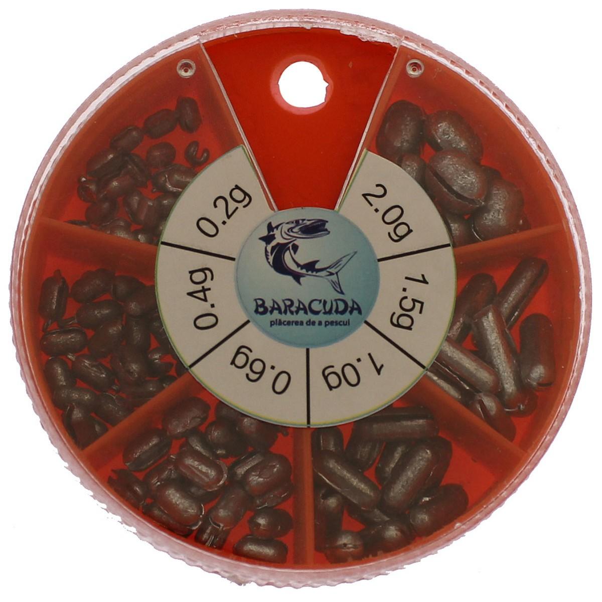 Тежести за риболов Baracuda 2