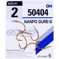 Риболовна кука Owner Nanpo Gure-S Gold 50404