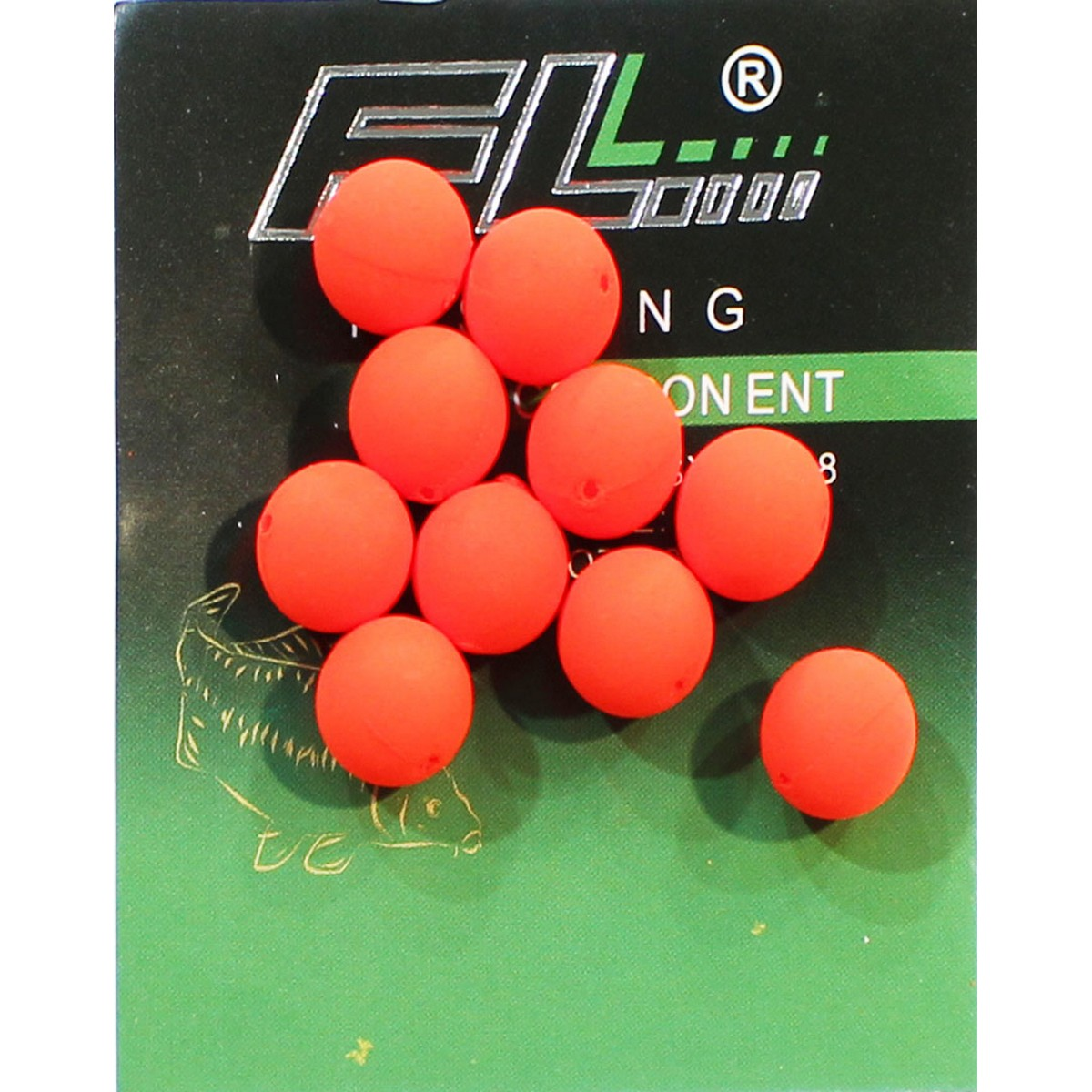 FL Pop-Up Floating Boilie 10mm Red - бонджук