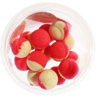 Black Fish Pop-Up 18mm White/Pink - плуващи топчета