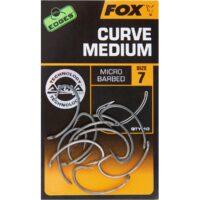 Куки за риболов Fox Edges Armapoint Curve Medium