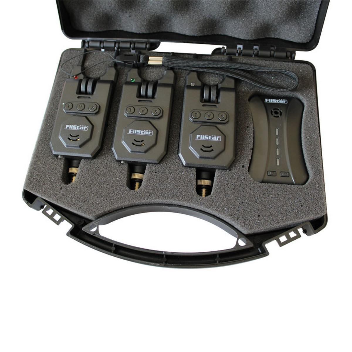 Комплект безжични сигнализатори FilStar FSBA-21 3+1