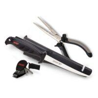 Комплект Rapala Combo Pack RTC-6P136C - клещи, нож, резачка