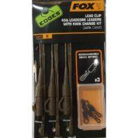 Комплект за монтаж Fox Edges Lead Clip Leadcore Leaders Dark Camo