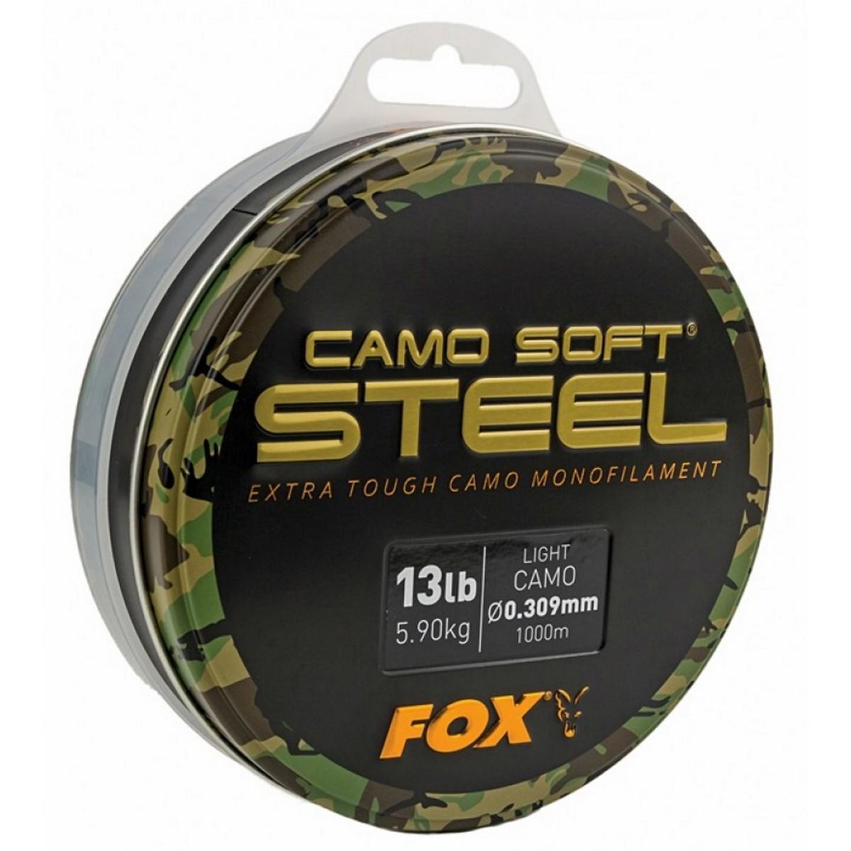 Шаранско влакно Fox Camo Soft Steel