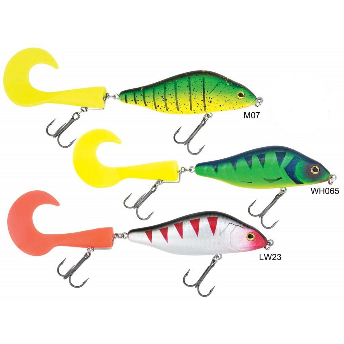 Воблер Baracuda Jerk Soft Tail