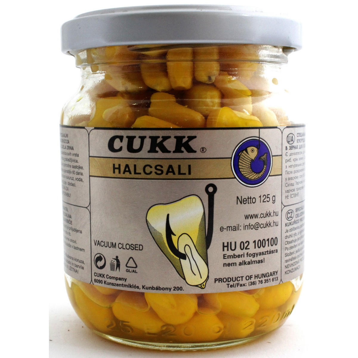 Царевица Cukk Cumin & Honey (кимион и мед) суха