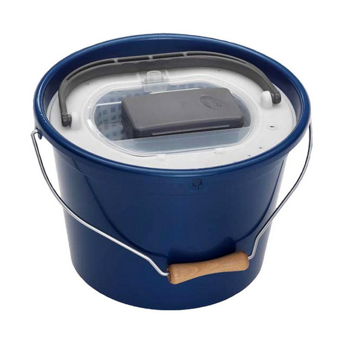Кофа за жива стръв кръгла с помпа и капак