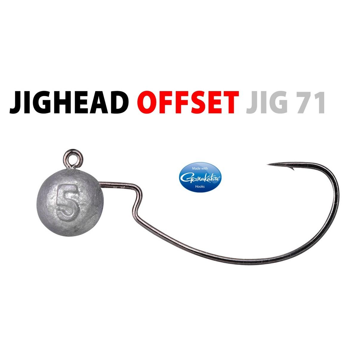 Глави за туистери SPRO Offset Jig Head 3/0