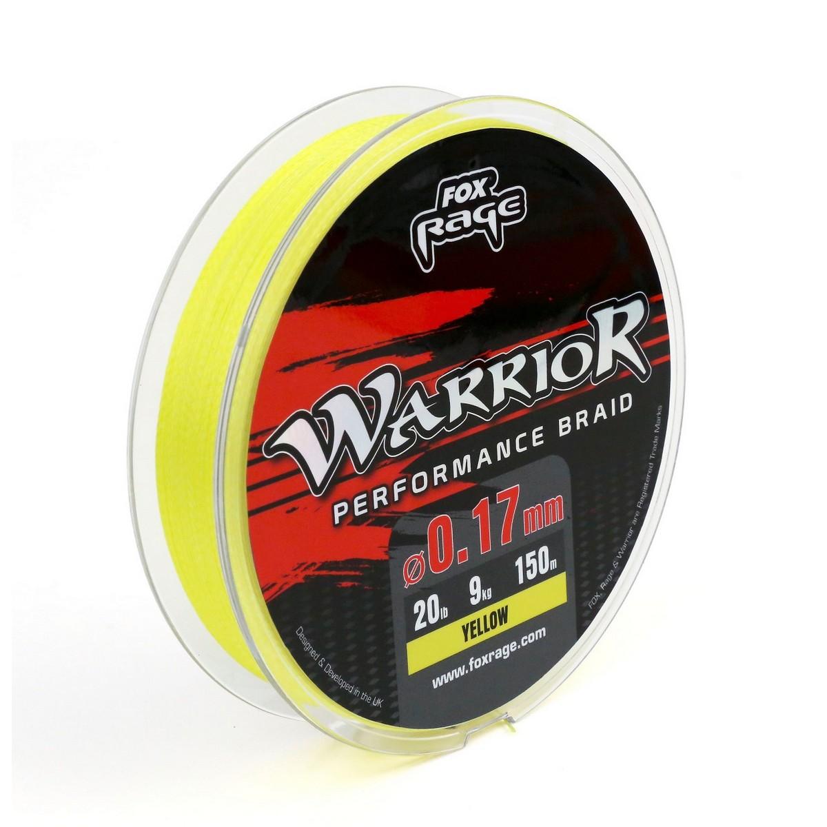 Плетено влакно Fox Rage Warrior Performance Braid