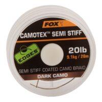Риболовно влакно Fox Edges Camotex Semi Stiff Dark Camo 20m