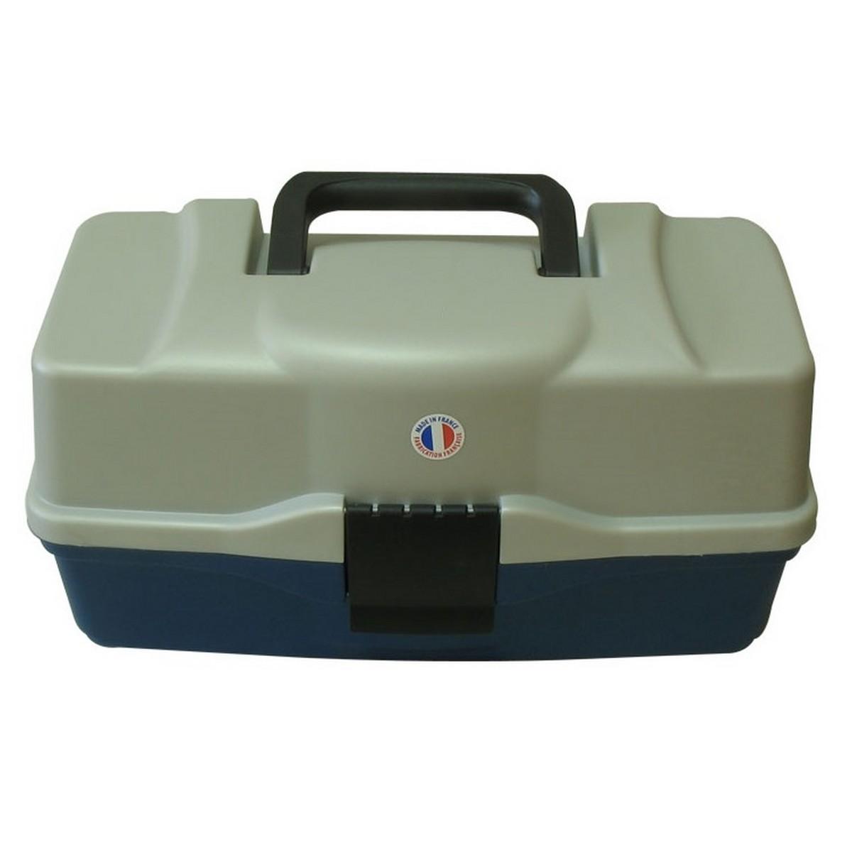 Куфар за риболов 2 нива Plastilys BOX-M2P