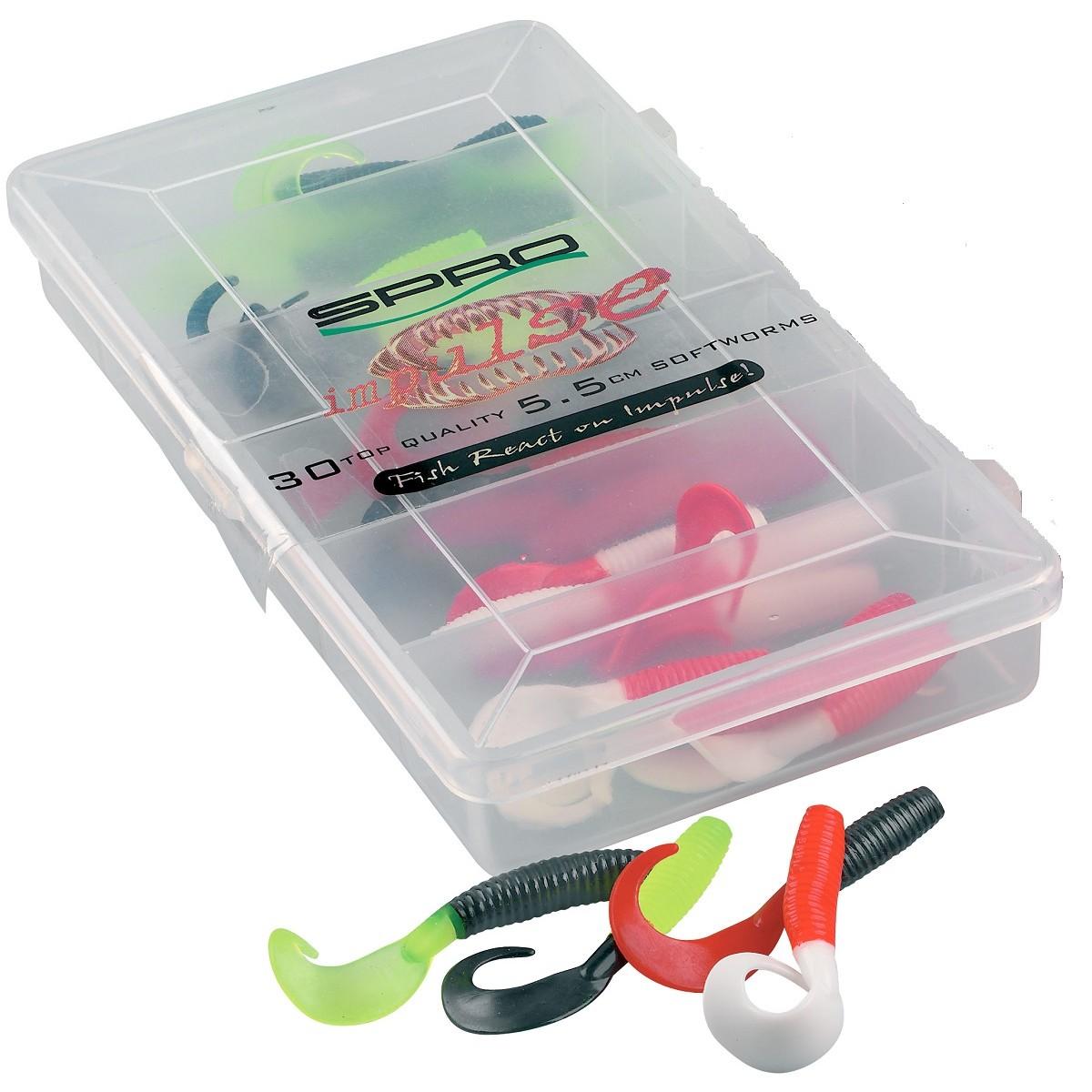 Комплект туистери SPRO Impulse Twister Set 5.5см