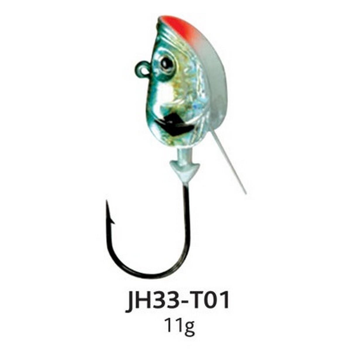 Глави за туистери боядисани Baracuda JH33-T01