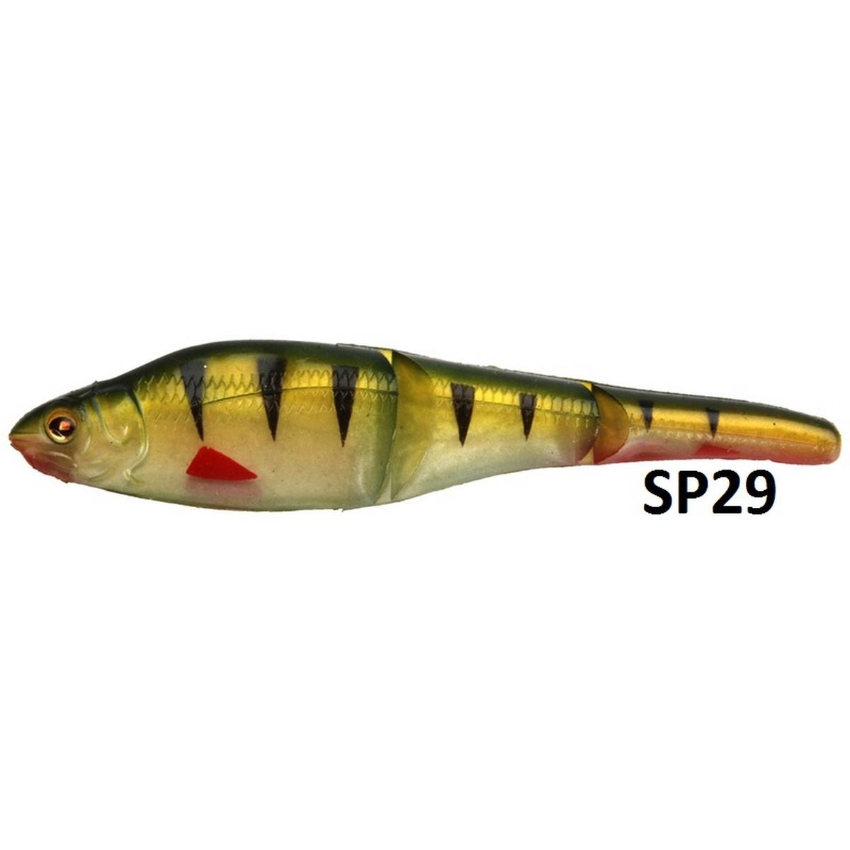 Силиконова рибка Sebile Magic Swimmer Soft 105mm