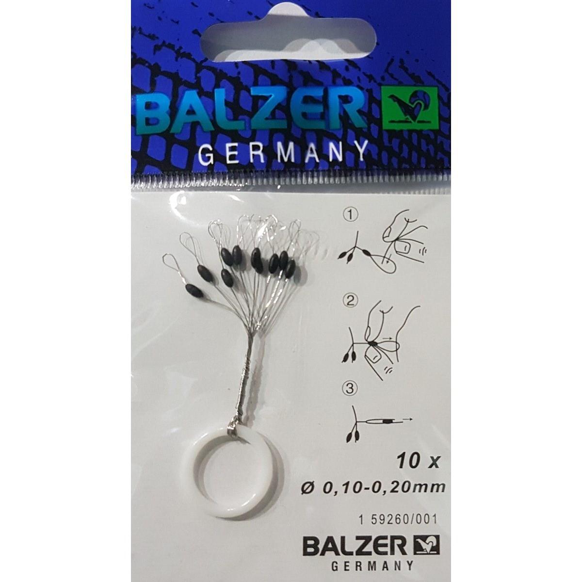 Стопер гумен за подвижна плувка Balzer 001