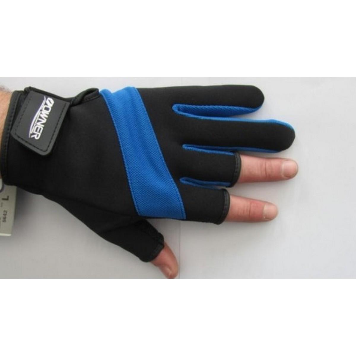 Неопренови ръкавици за риболов Owner Blue