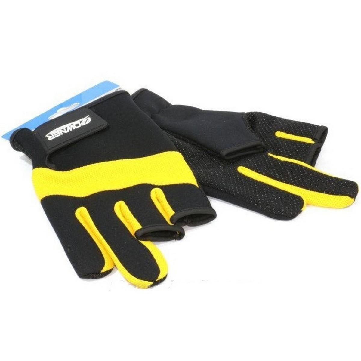 Неопренови ръкавици за риболов Owner Yellow