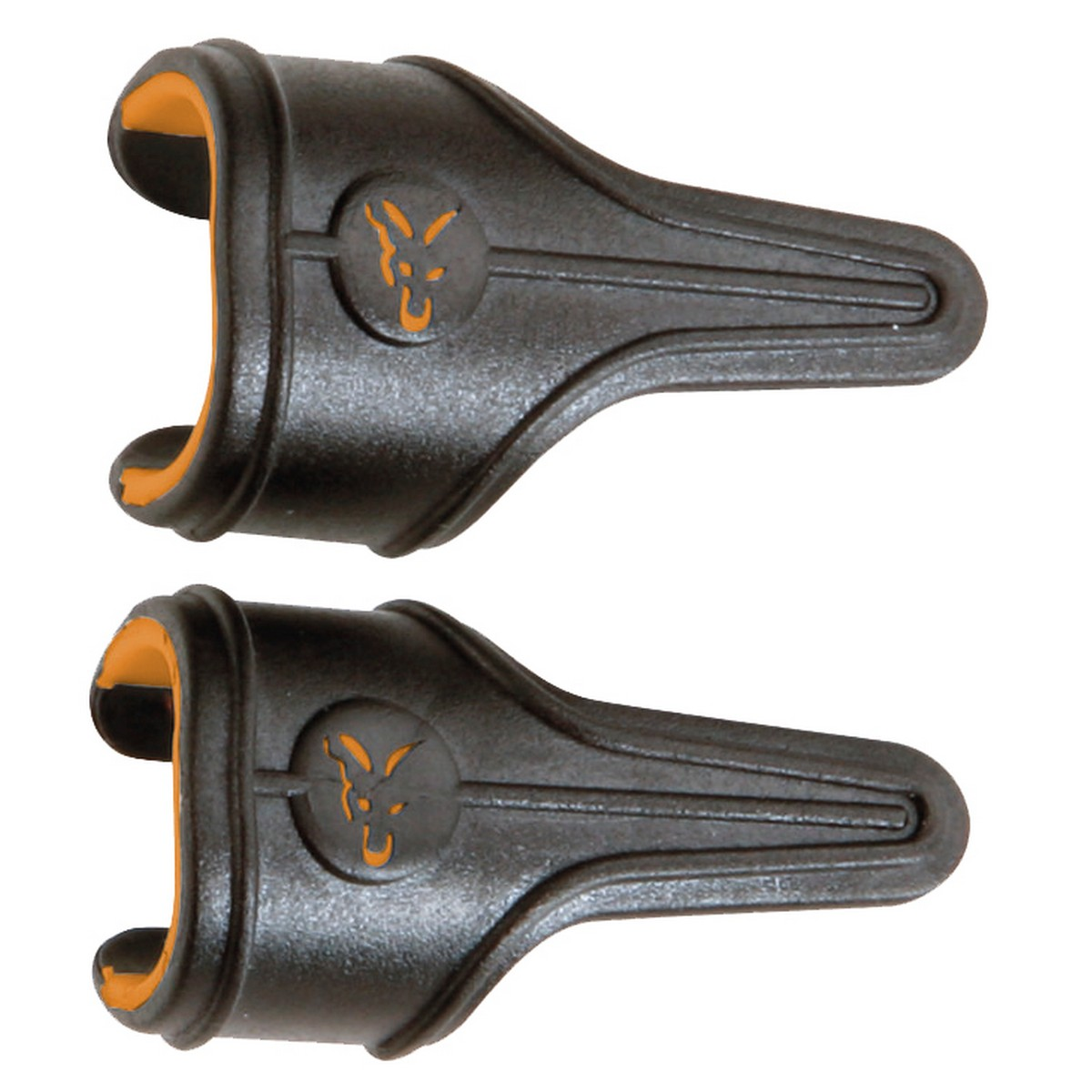 Клипс за влакно Fox Power Grip Line Clips small orange