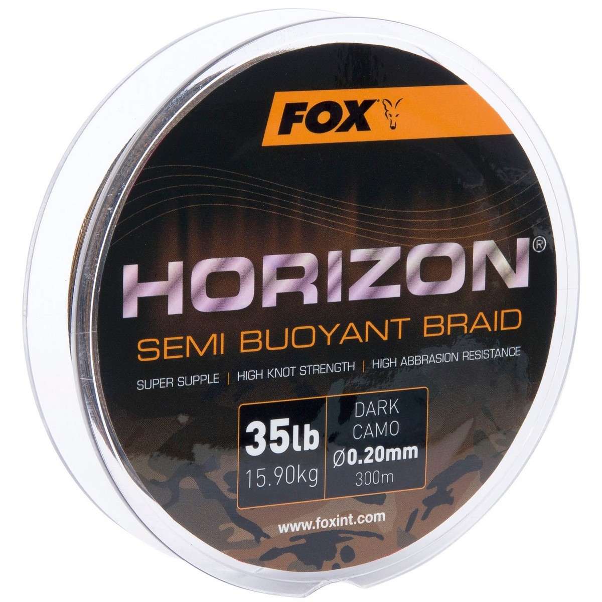 Риболовно влакно Fox Horizon Semi Buoyant Dark Camo Braid 300m