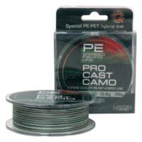 Хибридно плетено влакно Lazer PE Pro Cast Camo 100m