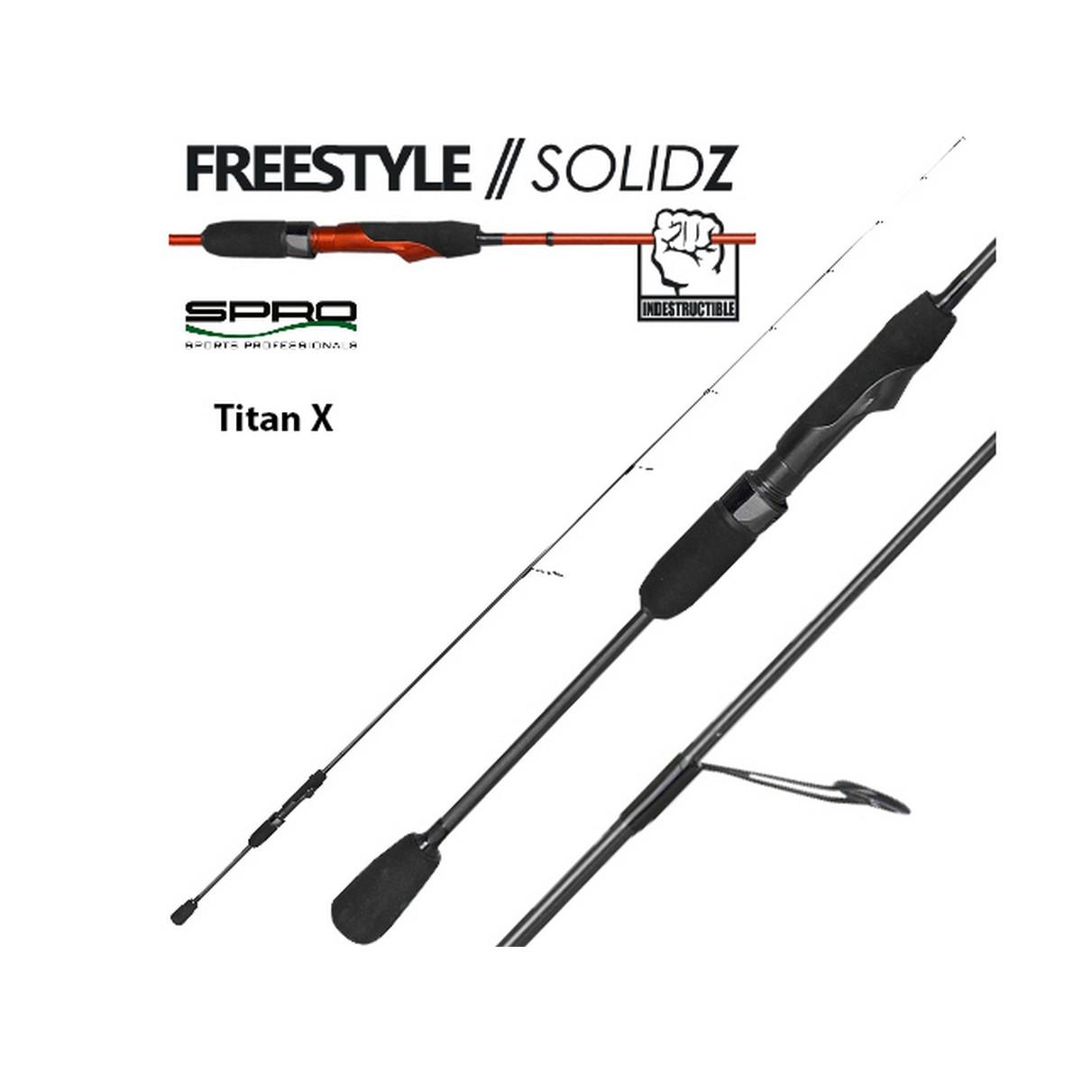 Риболовен прът SPRO Freestyle Solidz Titan X