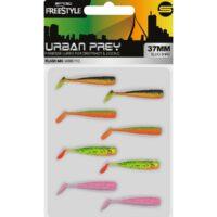 Комплект SPRO Freestyle Urban Prey Micro Slug 37mm Flash Mix