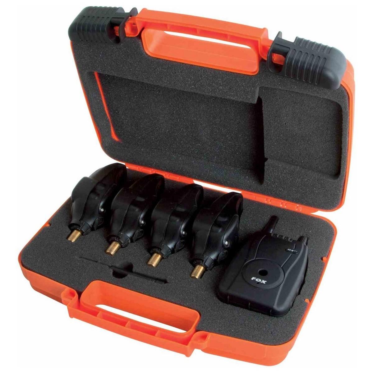 Комплект безжични сигнализатори Fox Micron MXr+ 4+1 Multi Color Set