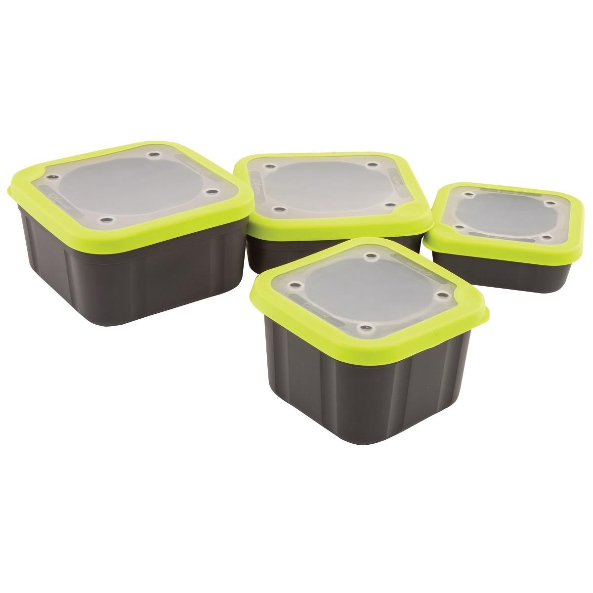 Кутия за стръв Matrix Grey/Lime с плътен капак