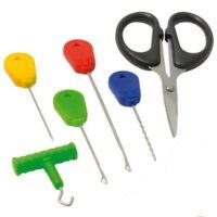 Комплект инструменти за шарански риболов FL Baitng Needle and Scissor Set