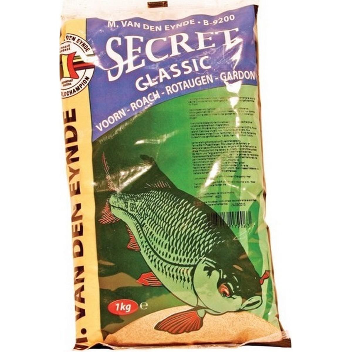 Захранка за риболов Secret 1kg - Van Den Eynde