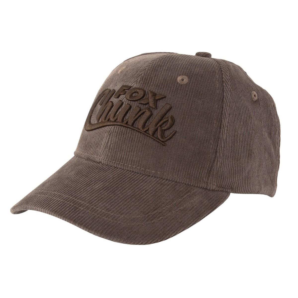 Шапка с козирка Fox Chunk Khaki Cord Baseball Cap