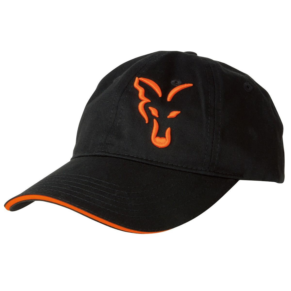 Шапка с козирка Fox Black & Orange Baseball Cap