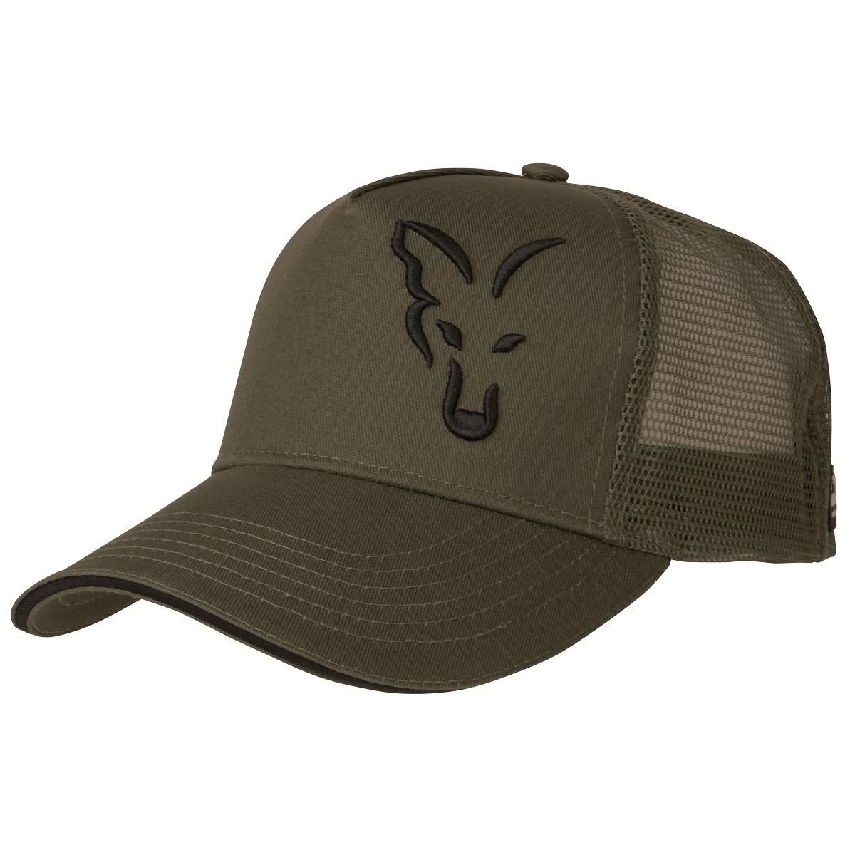 Шапка с козирка Fox Green & Black Trucker Cap