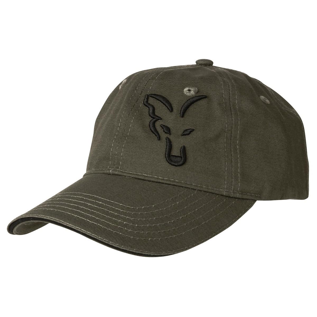 Шапка с козирка Fox Green & Black Baseball Cap