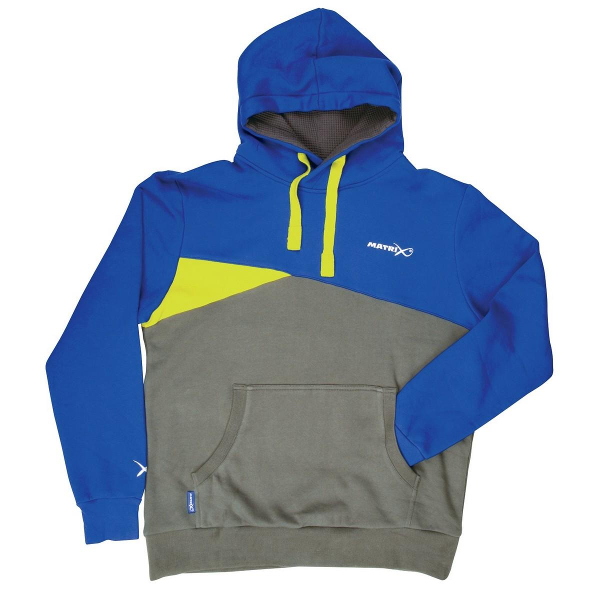 Суитчер Matrix Blue /Grey Hoodie