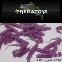 Силиконова примамка 4Predators HD Light 6cm