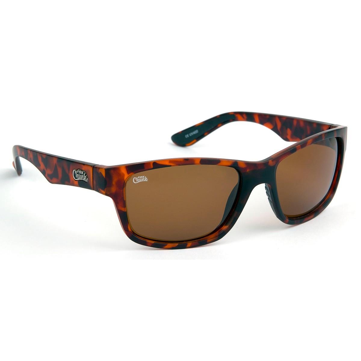 Очила Fox Chunk Tortoise Frame/Brown Lens Sunglasses