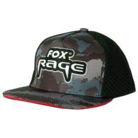 Шапка с козирка Fox Rage Camo Flat Peak Trucker Cap