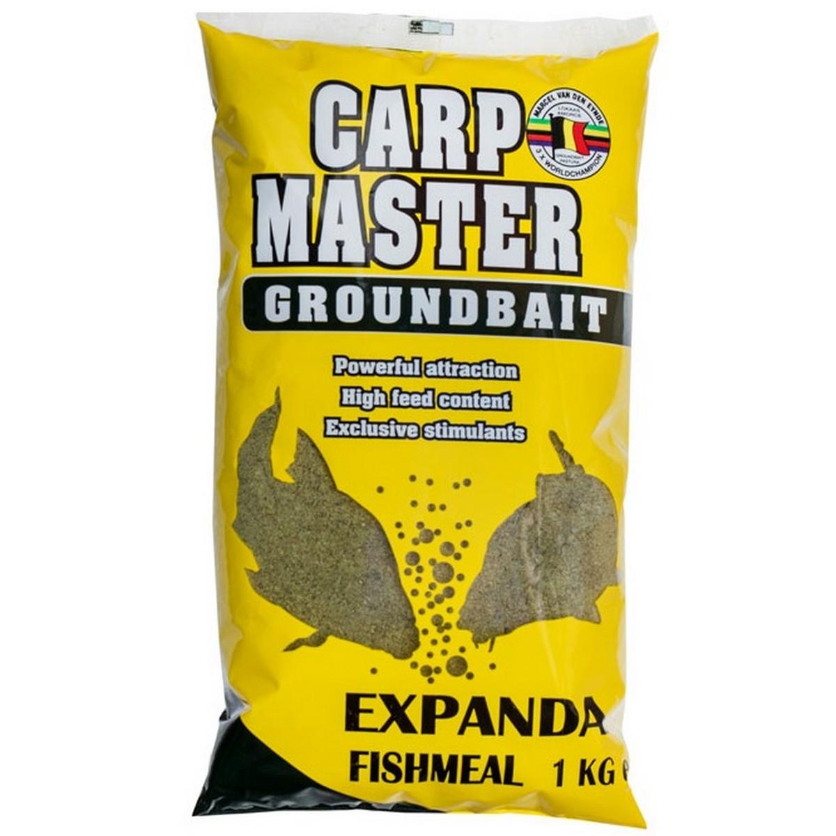 Захранка за риболов Carp Master Expanda Fishmeal 1kg - Van Den Eynde