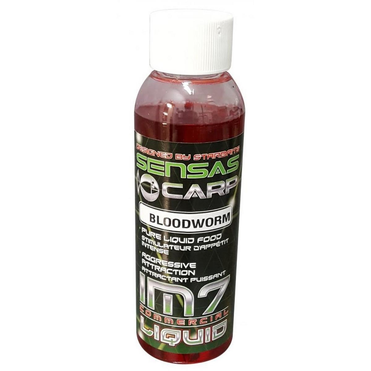 Течен ароматизатор Sensas IM 7 Booster Bloodworm
